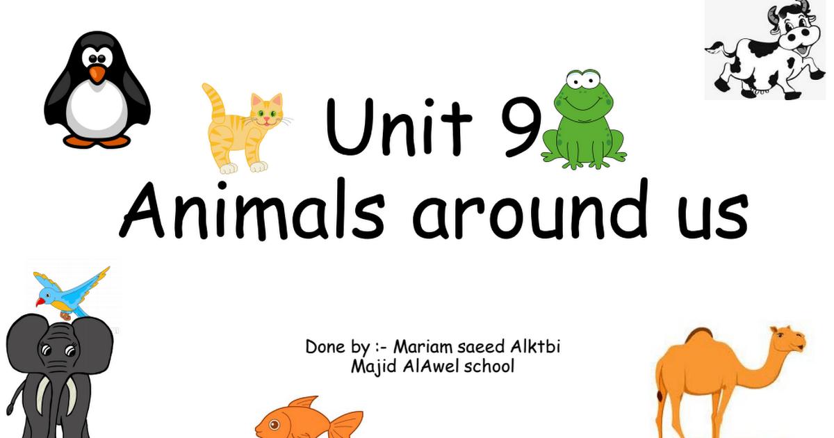 (Unit 9) اللغة الإنجليزية للصف الأول الفصل الثالث